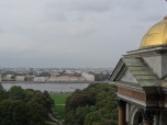 View over Saint Petersburg from St. Isaac