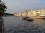 River cruise on river Neva