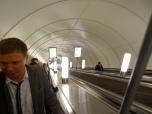 Going down: Saint Petersburg Metro