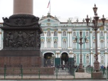 Palace Square - Huge Alexander Column and Hermitage in the background