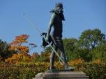 Statue at Peterhof