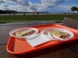 Lunch at Peterhof