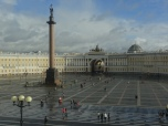 View over Palace Square with Alexander Column