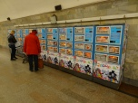 Maybe the freedom of press is not very impressing, the number of magazins to buy in the metro is