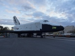 "Russian Space Shuttle ""Buran"" in Gorky Park"