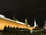 Kremlin walls to the Red Square