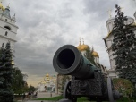 The tsar cannon - a huge cannon, way too big to be ever used