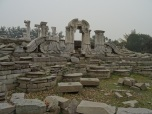 Old Summer Palace, destroyed in the boxer's rebelion