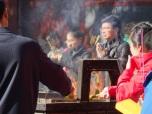 Worshipers at Lama Temple