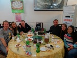 Last Meal in Beijing with the hostel gang