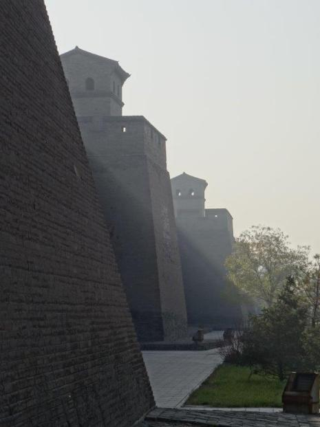 First View on the City Wall