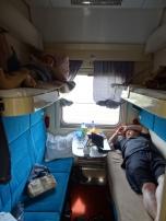 2nd class Rossia train