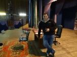 Host Vitaly in his Theatre