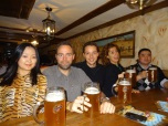 The Spaniards and Mongolians beside me obviously loved Oktoberfest