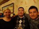 Asia and two very nice Mongolians (an advocate and a gold miner)