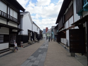 """Dejima, a former small island in Nagasak, used to be the only port of trade in the time of Japanese seclusion """"Sakoku"""" 1633 - 1853 (first run by Portugese, then by Dutch traders). The island vanished and thus it is a large open air museum."""