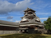 One of the watchtowers of Kumamoto castle.