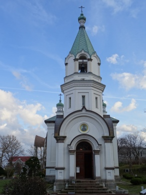 My first orthodox church after about two months.