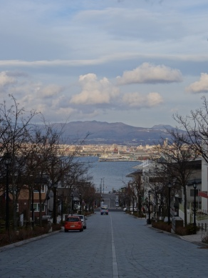 Hakodate is a lovely little city, bringing up memories on San Francisco.
