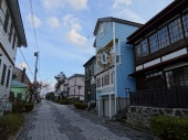 Hakodate is a blend of Western and Japanese styles.
