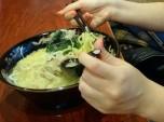 Ramen, a noodle soup
